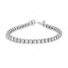 Louis Creations 14k White Gold Diamond Bracelet - BB48K