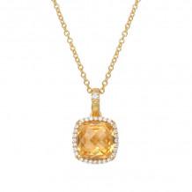 Lafonn Aria Gemstone Necklace - GP013CTG18