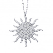 Lafonn Classic Platinum Diamond Necklace - P3001CLP18