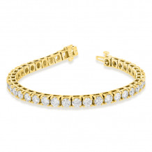 Louis Creations 14k Gold Diamond Bracelet - BB410K-YG