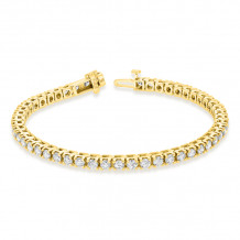 Louis Creations 14k Gold Diamond Bracelet - BB45K-YG