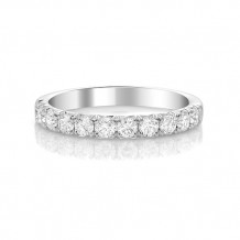 Roman & Jules 14k White Gold Diamond Wedding Band - kr5141w-wb