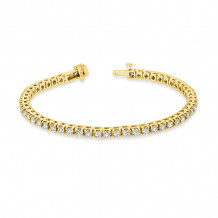 Louis Creations 14k Gold Diamond Bracelet - BB44K-YG