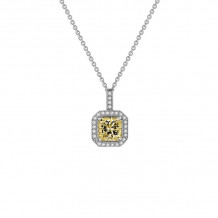 Lafonn Classic Platinum Diamond Necklace - P0017CAP18