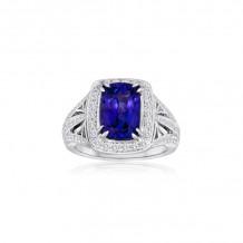 Roman & Jules 14k White Gold Sapphire Ring - 1103-3