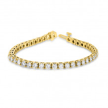 Louis Creations 14k Gold Diamond Bracelet - BB48K-YG