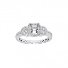 Roman & Jules 14k White Gold Straight Engagement Ring - KR1664W