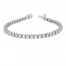Louis Creations 14k White Gold Diamond Bracelet - BB47K
