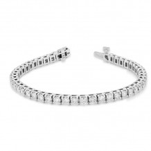 Louis Creations 14k White Gold Diamond Bracelet - BB46K