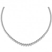 Louis Creations 14k White Gold Diamond Necklace - NRL816-600