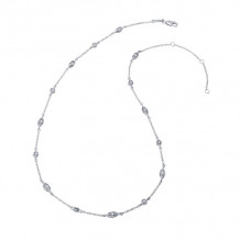 Lafonn Classic Platinum Diamond Necklace - N0010CLP18