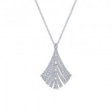 Gabriel & Co. 14k White Gold Diamond Pendant
