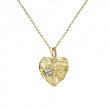 Gabriel & Co. Souviens 14k Yellow Gold Diamond Pendant